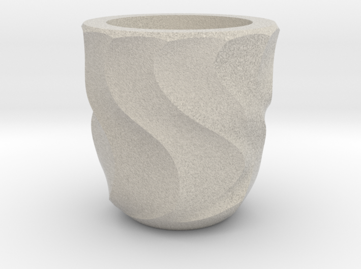 Shot Glass Planter2 3d printed