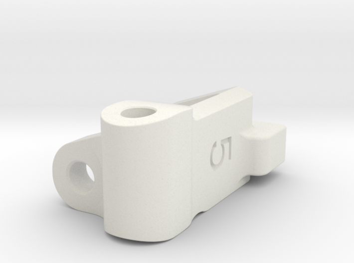 Five Seven Designs Plus 5 Right Front Caster Block 3d printed