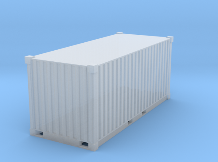 1/87Container_20ft 3d printed