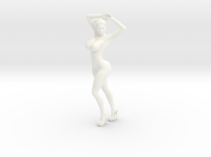 Heels girl 015 Scale 1:10 3d printed