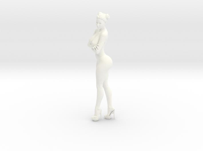 Heels girl 002 Scale 1:10 3d printed