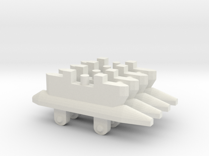 Single Missile Pylon x4 3d printed