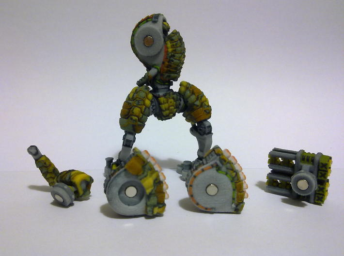 Heavy Mech suit 3d printed Magnets