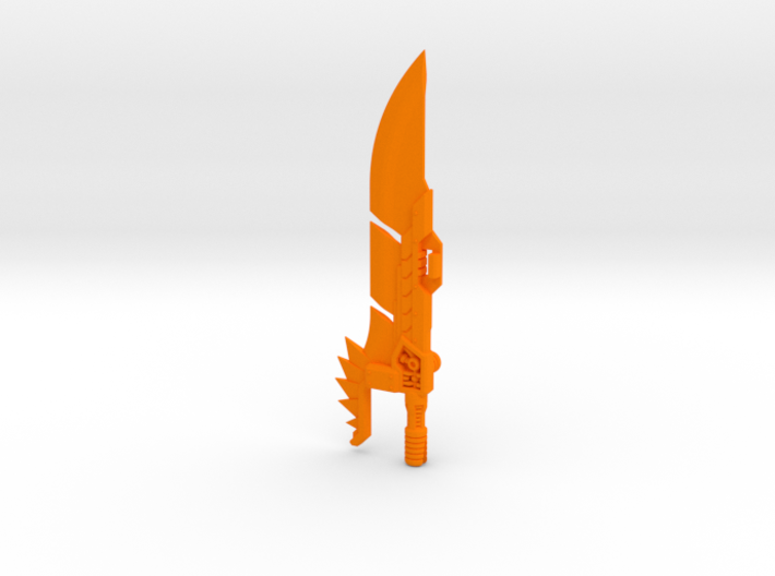'Lava Lancer' Sword for POTP Dinobots 3d printed