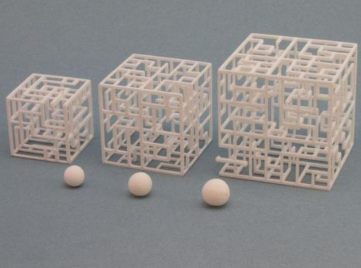 Maze Mix-pack 1 – 555, 666, 777 3d printed White balls included