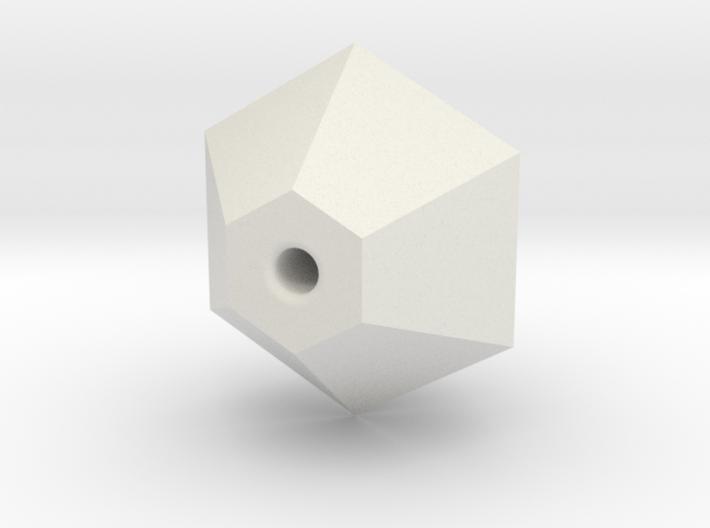 Geo Ball 10mm Bead 3d printed