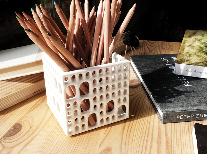 Arches Pencil Holder 3d printed On your desk...