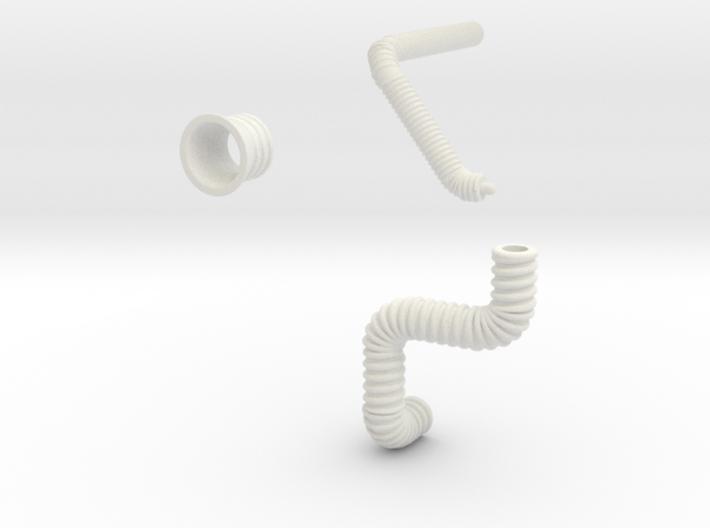 Gummiteile für Huesker Flexcoversystem 3d printed