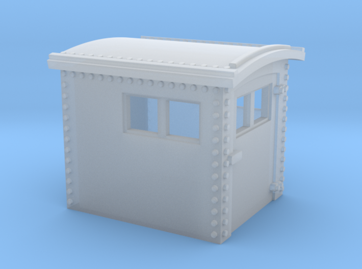 N&W Style Dog House HO Scale 1:87 3d printed