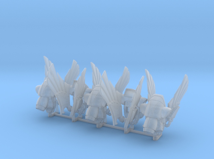 Corvidae Pattern Prime Jump Packs 3d printed