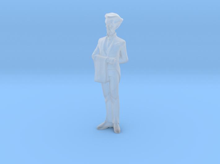 1/64 Diorama Figurine Butler 3d printed