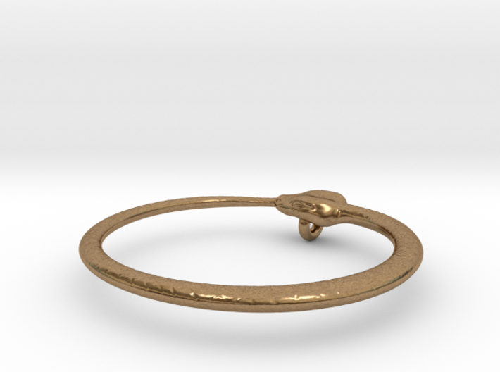 Ouroboros Pendant 5.2cm 3d printed