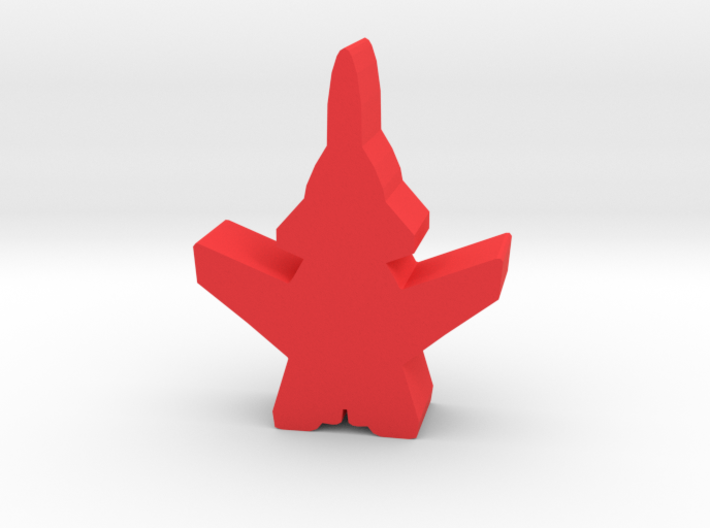 Game Piece, Red Force Berkut Fighter 3d printed