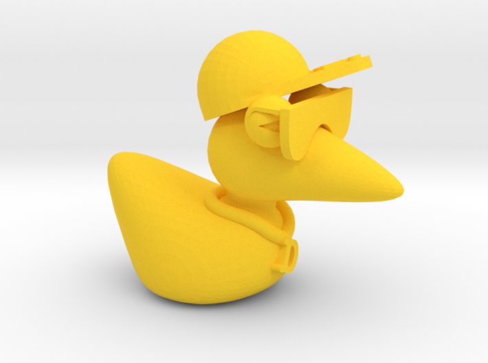 The Cool Duck 3d printed