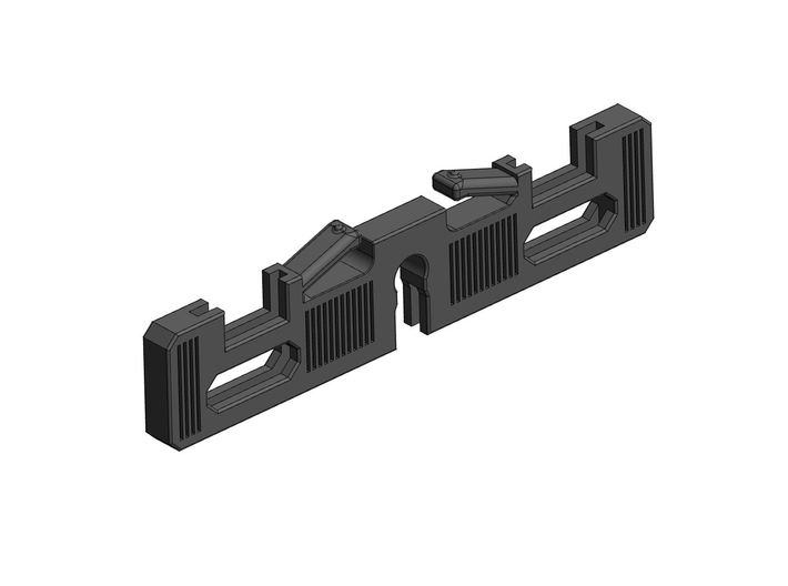 Graflex Clamp switches holder 3d printed