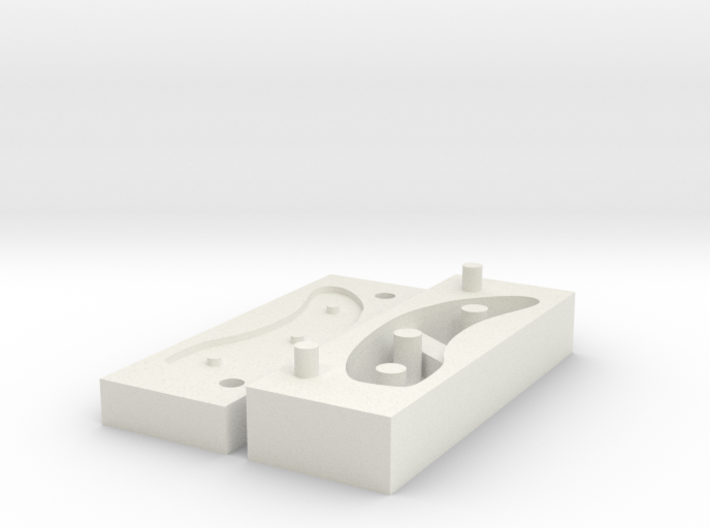 Toughware Equilux soft covers - silicone mold R 3d printed