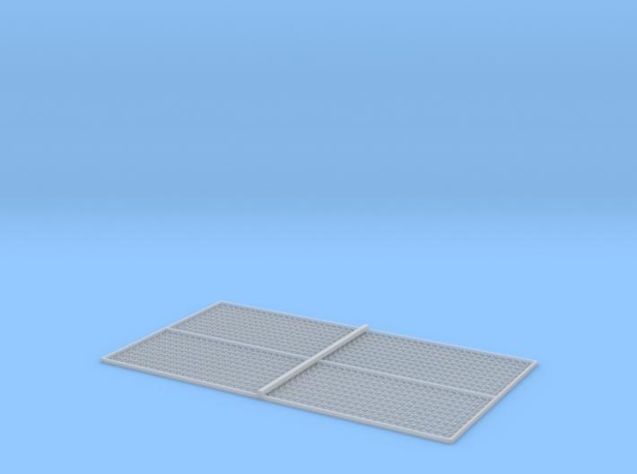 HO Sleeper Plates w/Dog Spikes X 1000 3d printed