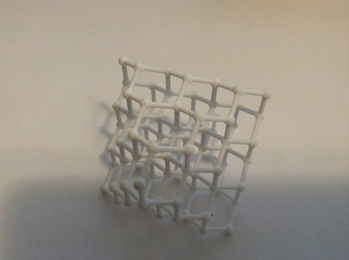 Face Centered Cubic (Diamond) Crystal Structure 3d printed