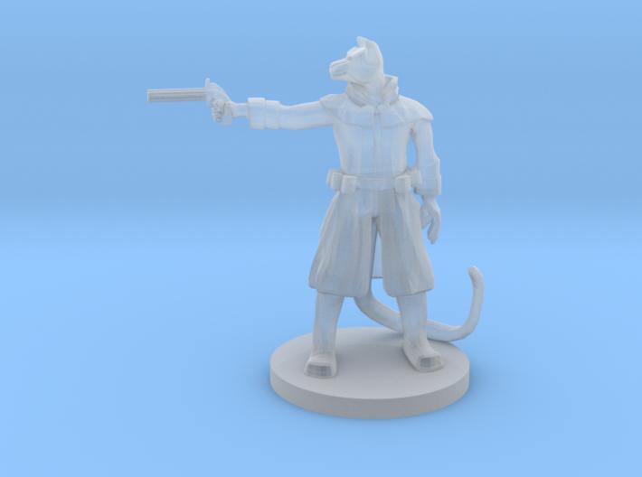 Catfolk Gunslinger - Pepperbox 3d printed
