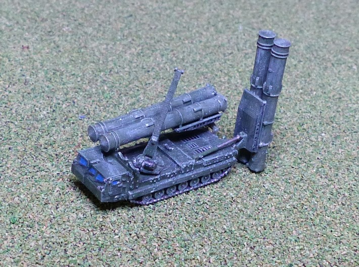 SA-12 / SA-23 9A85 SAM Transporter TEL 1/144 3d printed 1/285 Model