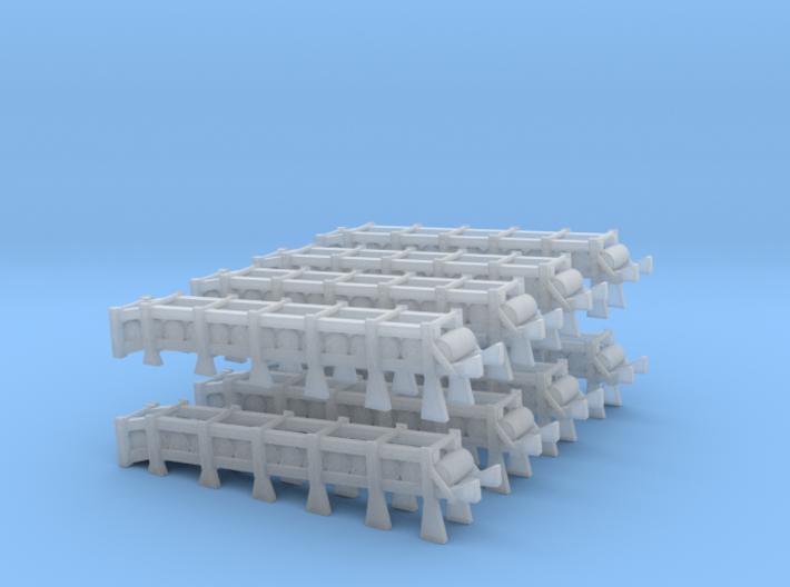 1/300 USN DC Release Track Mk 9 Mod 0 SET 3d printed
