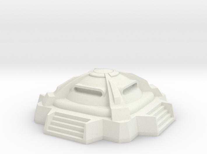 1/350 Military Bunker 3d printed