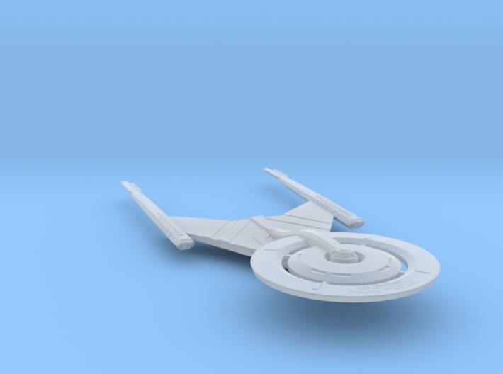 Federation Crossfield-Class Science Vessel 1:7000 3d printed