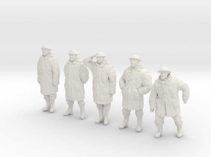 1/32 Royal Navy Duffel Coat Set201-1 3d printed