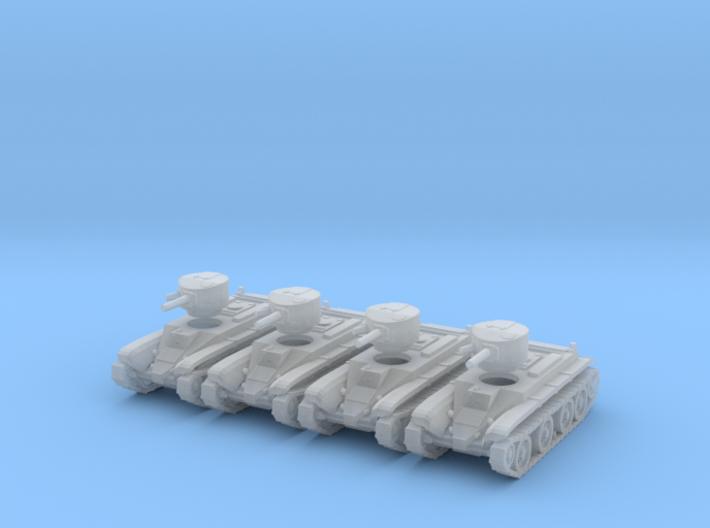 1/220 BT-2 tanks 3d printed