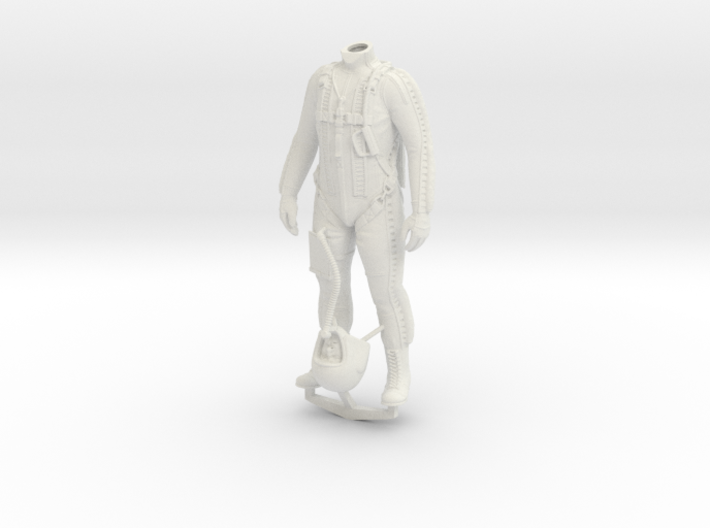 Partial Pressure Suit 1:12 3d printed