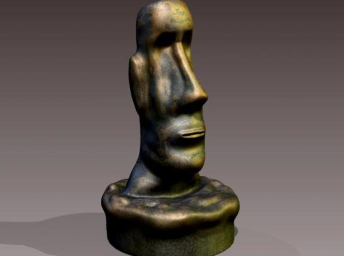 Easter Island Head Statue (Updated) 3d printed