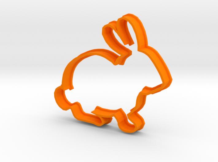 Rabbit Cookie Cutter 3d printed