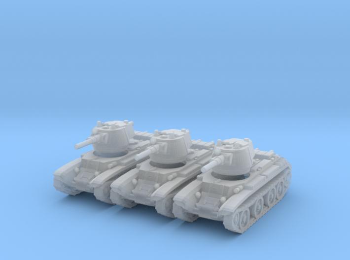1/220 scale BT-7 tank 3d printed