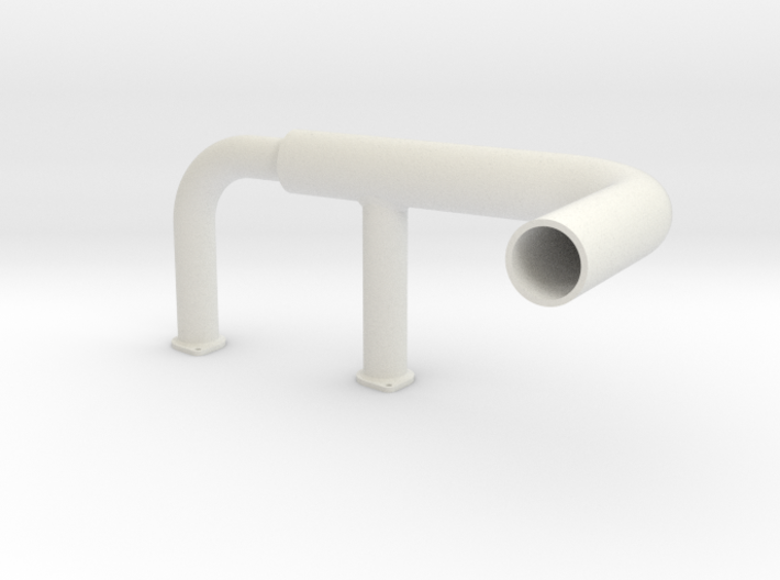 Cub Exhaust Left 3d printed