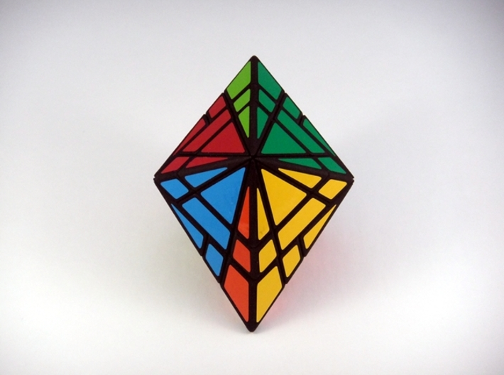 Fracture-10 Master Edition Puzzle 3d printed 180 Degree Turn
