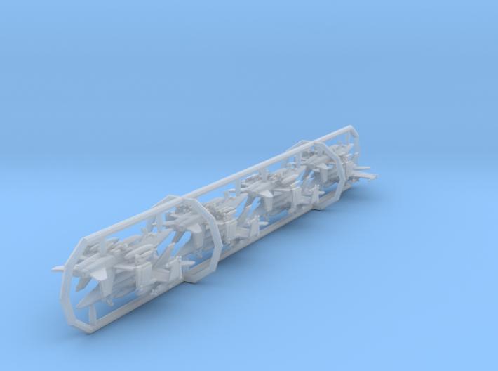 F/A-18C w/gear x8 (FUD) 3d printed