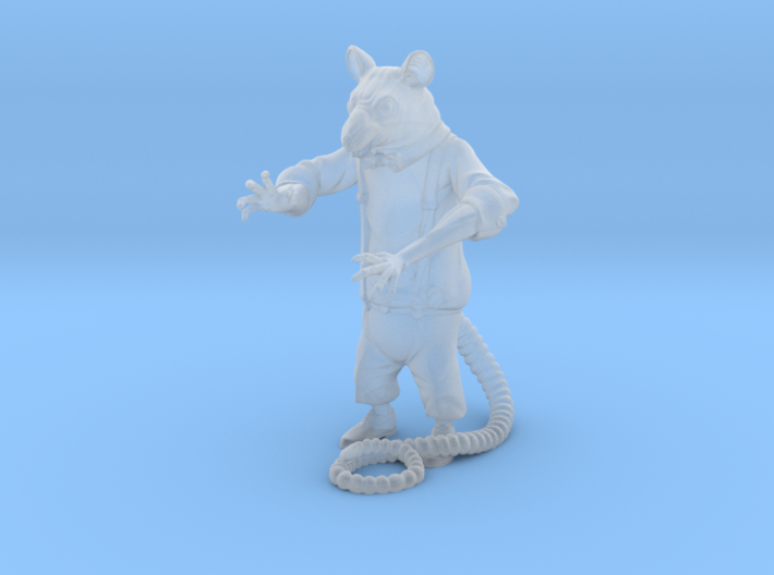 Mafia Rat 3d printed