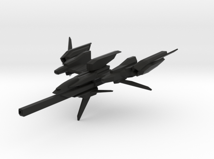 """CZ-981A """"Cruiser"""" Space Fighter 3d printed"""