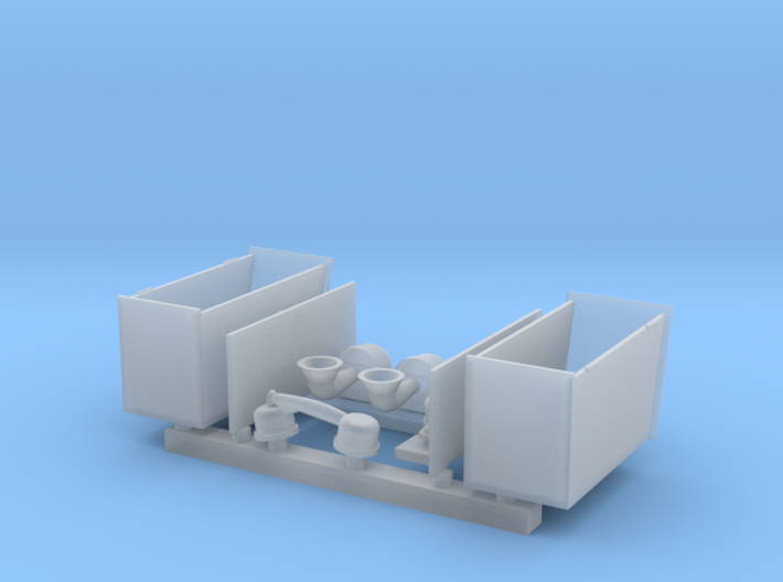 Telephone Boxes 1 to 25 3d printed