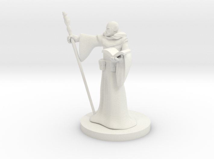 Elf Wizard 6 3d printed