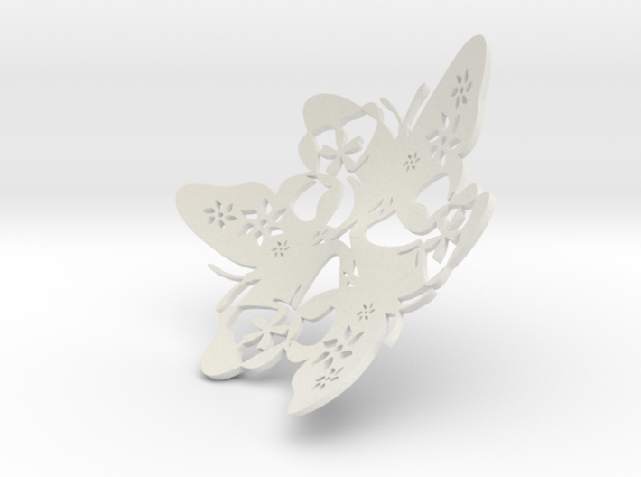 Butterfly Bowl 1 - d=10cm 3d printed