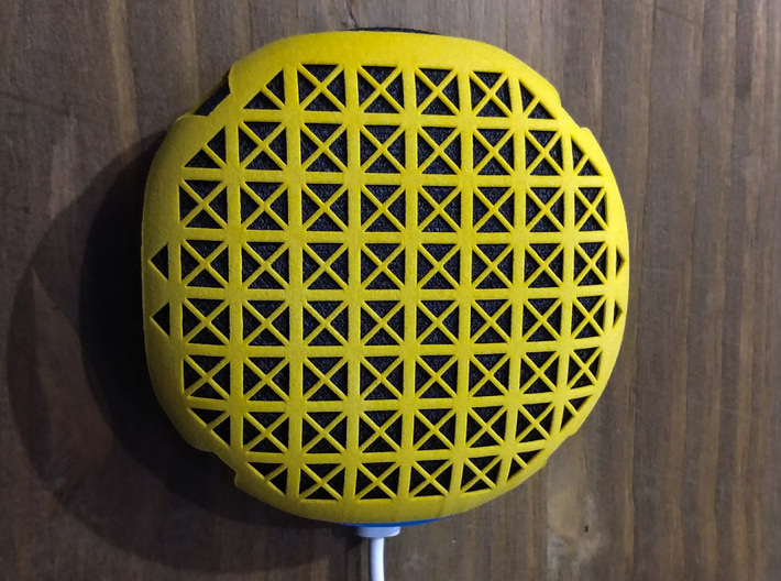 Google Home Mini Small Wall Mount 3d printed Compatible with the shell