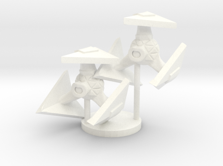 Robotic Fighter 3d printed