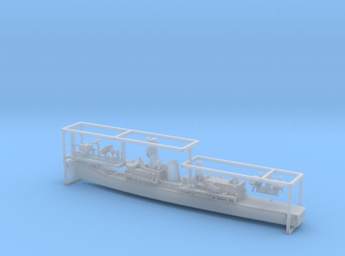 Chilean Frigate PFG-06 Almirante Condell 1/1250 3d printed