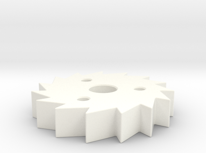 Ratchet (mechanical part for a 3D weaving loom) 3d printed