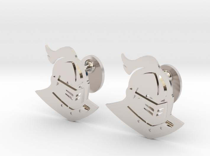 UCF Knight Cufflinks, Customizable 3d printed