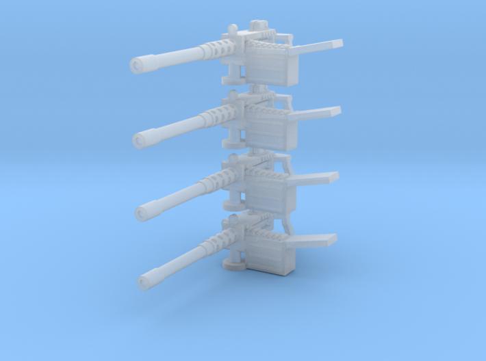 Heavy machine gun 28mm x4 3d printed
