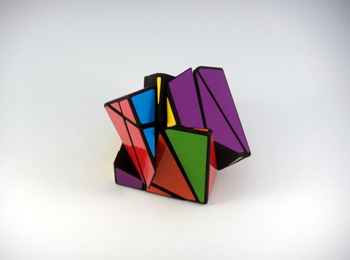 Insanity Cubed Puzzle 3d printed Three Turns