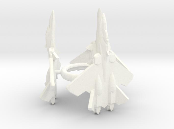 3x Yf21 1/1000 3d printed