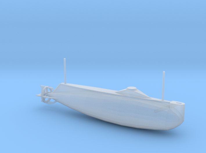 1/144 Scale USS Holland SS-1 3d printed